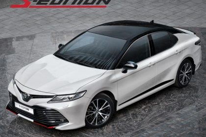 Toyota Camry 2020 trong diện mạo thể thao S-Edition